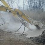 Sediment Stabilization Landfill Construction