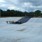 Air Force Wetlands Construction