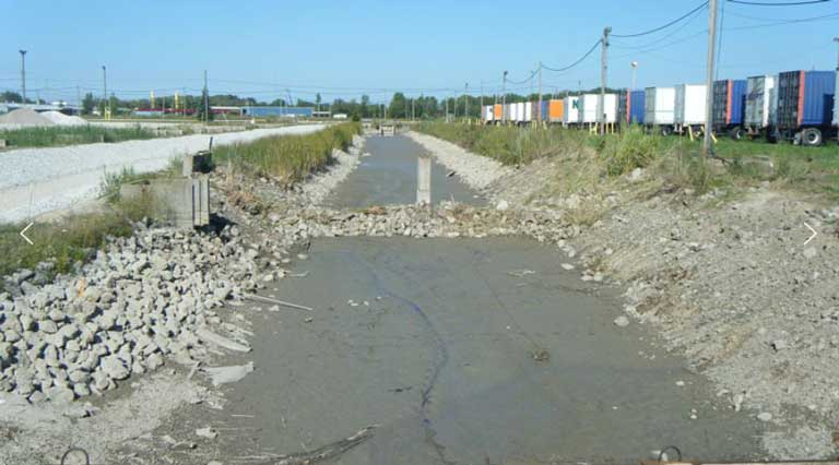 Job Site Services Ditch sediment project images