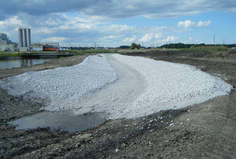 Job Site Services Sediment Stabilization Landfill Construction image
