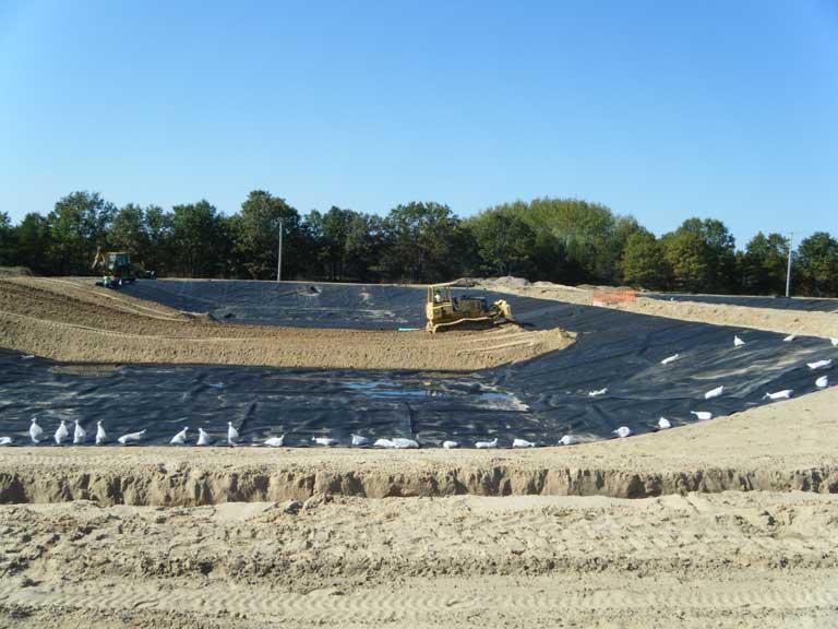 Job Site Services Air Force Wetlands Construction project image