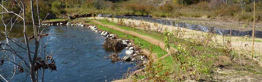 Job Site Services Inc. Riverbank Stabilization Service image